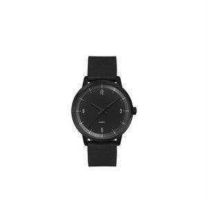Ladies 30.5mm Metal Case Ladies 30.5mm Black Metal Case with Black Dial
