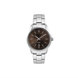 Ladies Brown Dial 33mm Metal Case Ladies Brown Dial 33mm Metal Case with Folded Steel Band
