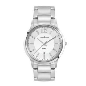 Ladies Silver Stainless Steel 3 Hand Ladies Silver Stainless Steel Case, and Stainless Steel bracel